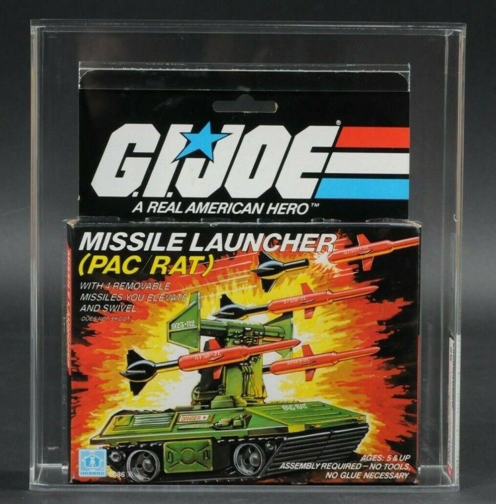 1983 Hasbro Gi Joe Serie 2 Figura de Acción de rata PAC lanzador de misiles autoridad 85 Menta en caja sellada Sellado