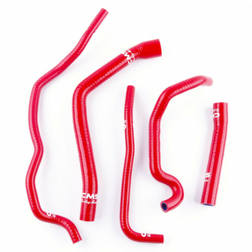 Red Silicone Coolant Radiator Hose Kit for Triumph Sprint ST GT 1050 1050i 05-18