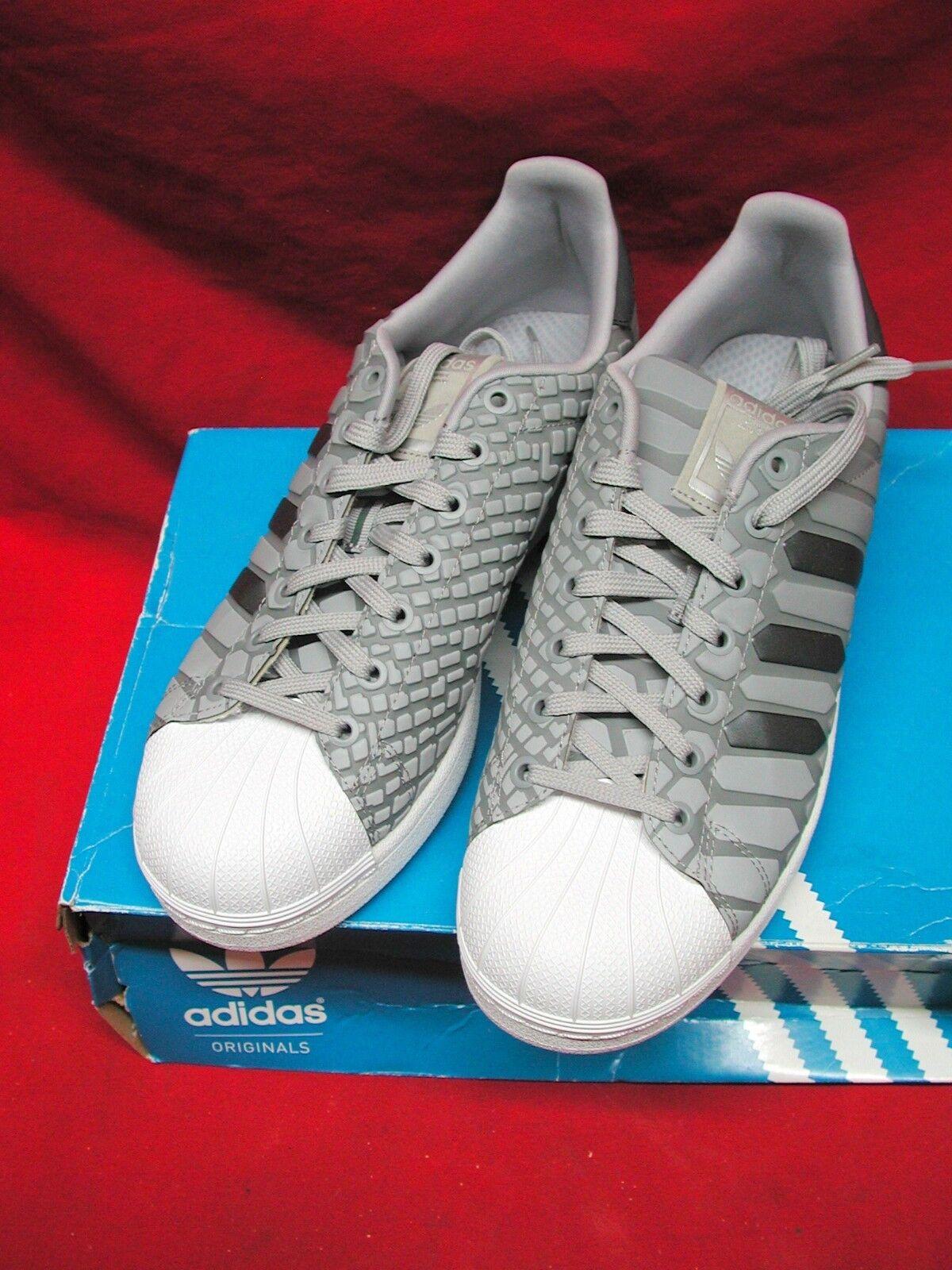 Adidas superstar xeno grigio argento d69367 prisma riflettente originali 3m d69367 argento noi uomini 10 a544b1
