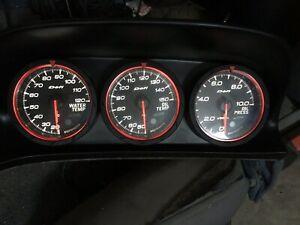 Genuine DEFI ADVANCE SYS CR assist Meter gauges Honda ACURA Integra RSX DC5 TSX