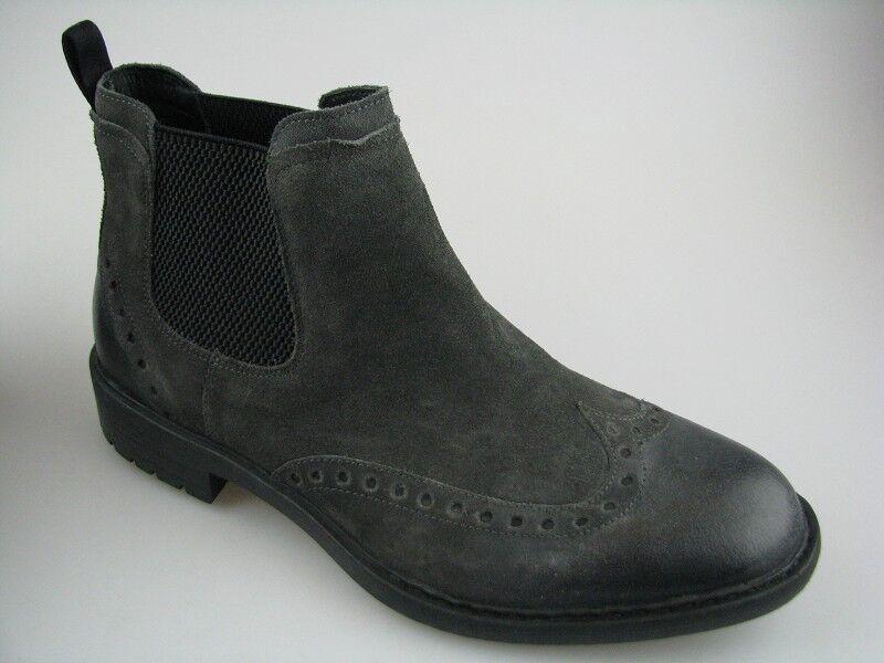 Geox Herren Boots U KAPSIAN D Anthracite Wildleder in Gr.42