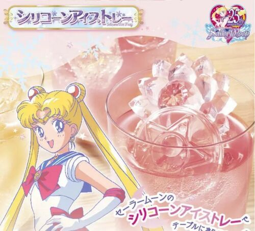 Sailor Moon Zecter Chocolate Mould 3D Ice Cube Mold Maker Silicone Trays DIY