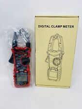 Kaiweets Digital Clamp Meter T Rms 6000 Counts Multimeter Voltage Tester Leads