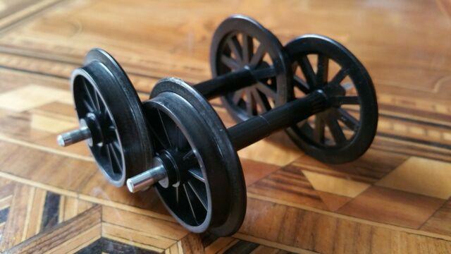 4 Stück Scheibenradsatz Spur G LGB 67401 Kunststoff