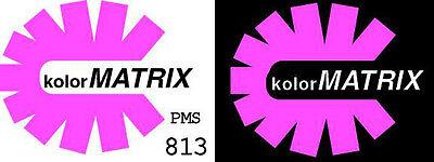 GEN Opaque Fluorescent Magenta Plastisol Screenprint Ink Non Phthalate QUART