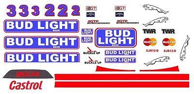 Ed Filteau 1//43rd Scale Slot Car Decals NHRA DRAG BLUE-VEL-VETTE Driver