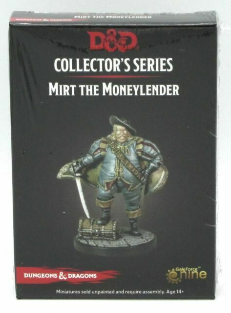 D/&D miniatures 1x x1 Mirt Waterdeep Dragon Heist NM
