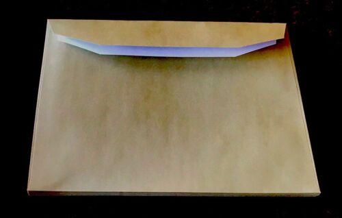 200 Pack C5 120 gsm A5  Kraft Envelopes Olive Heritage Green Gummed