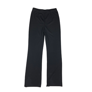 Exclusively Misook Size XS Black Pants Pull-On Knit Bootcut Trousers
