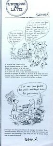 Drawing-Press-Humor-By-Sempe-IN-1962-Ref-68423