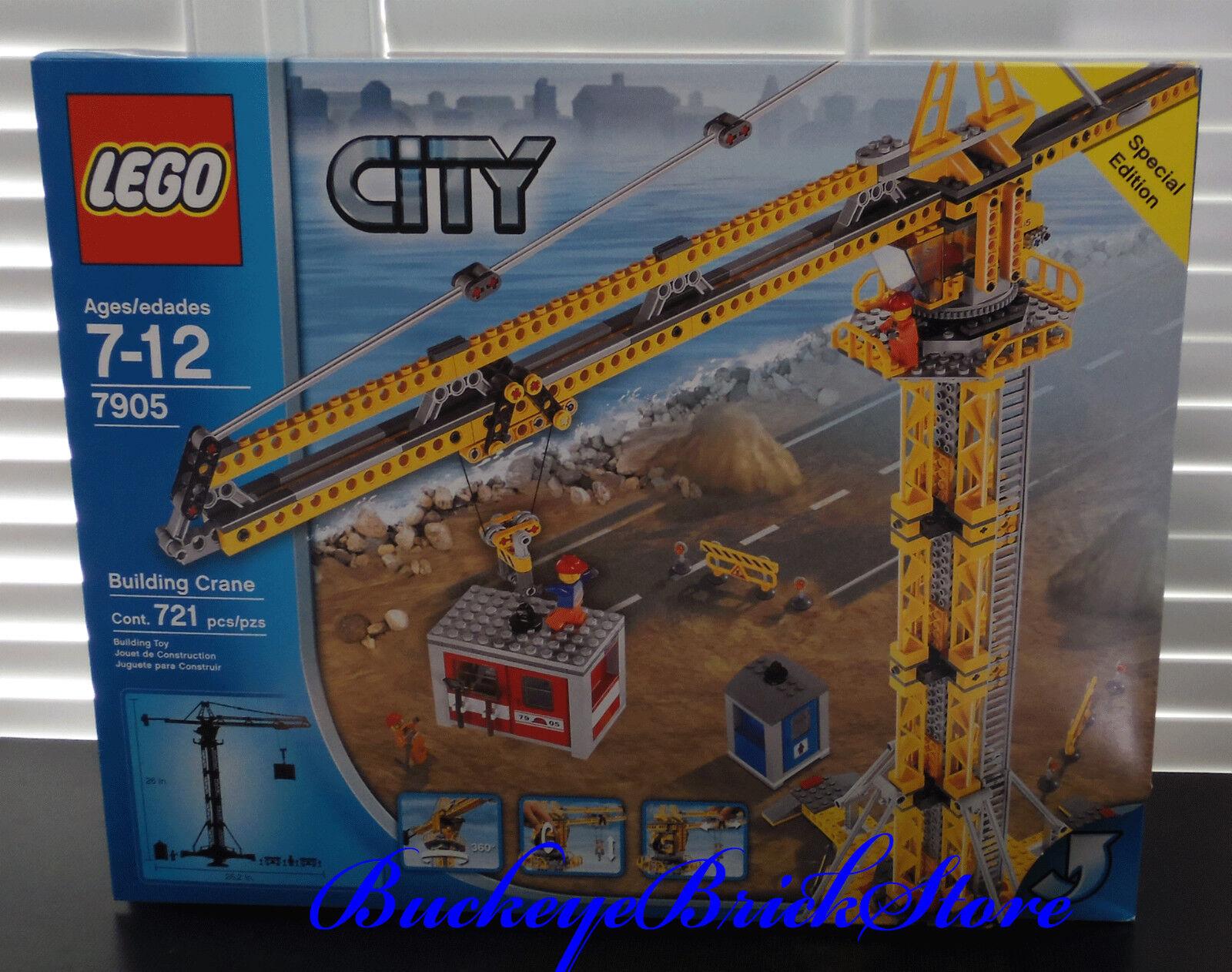 Lego Ville City 7905 Grue à tour Neuf Scellé Construction Set