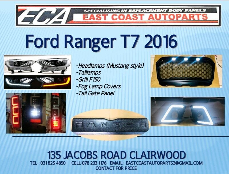 Ford Ranger 2016 Accessories