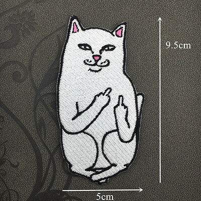 Cute Embroidered Sew On / Iron On Patches Set Badge Bag Fabric Applique Craft
