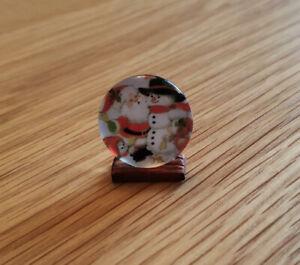 1-12-Dolls-House-miniature-Christmas-Plate-Ornament-Handmade-Tree-Decoration-LGW