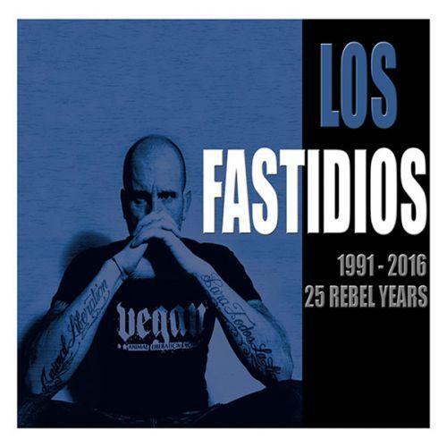 Los Fastidios - 1991-2016 25 Rebel Years (CD) Neuf Best of Ska Punk Punk Rock Oi