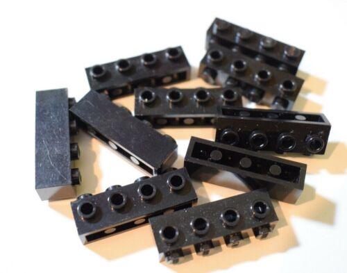 LEGO Confezione da 10 brick modificato 1x4 con borchie 4 su 1 lato lavoro part number 30414