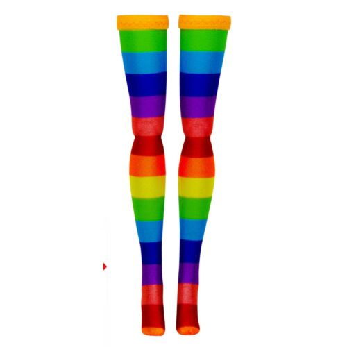 Multi Stripe Doll Stockings to fit 1//6 female Action Figures such as Phicen