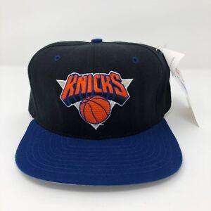 NEW-Vintage-New-York-NY-Knicks-NBA-Fiber-Optic-Light-Up-New-Era-Snapback-Hat