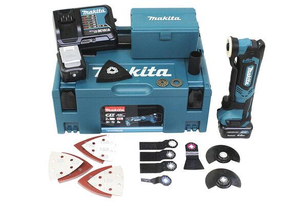 Makita TM30DSMJX5 Akku-Multifunktionswerkzeug 2 x 10,8 V 4 Ah Akkus im Makpac