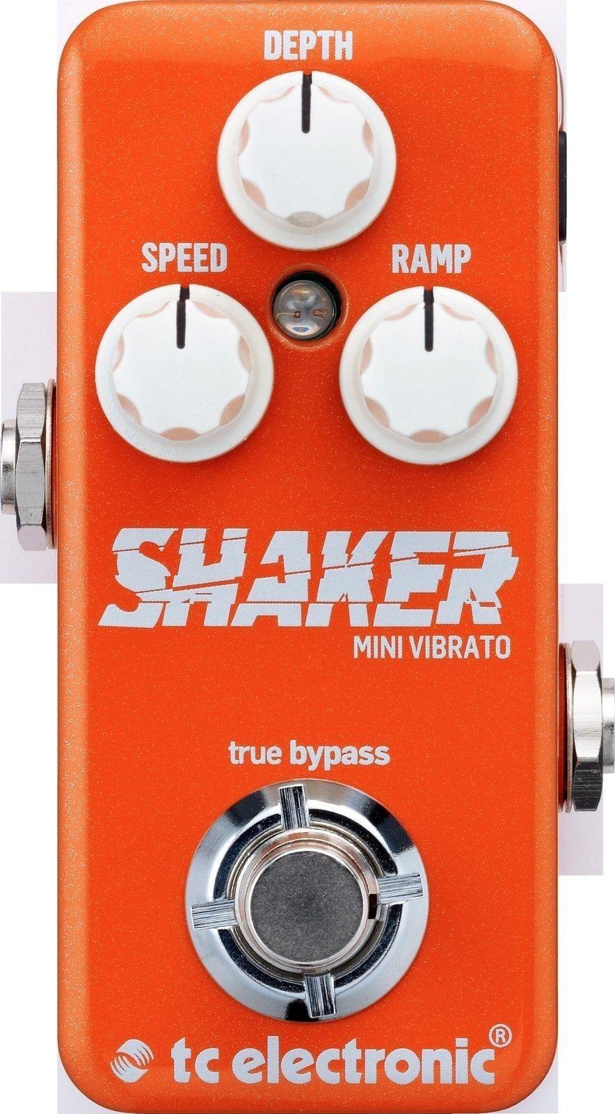 New TC Electronic Shaker Mini Vibrato Guitar Effects Pedal