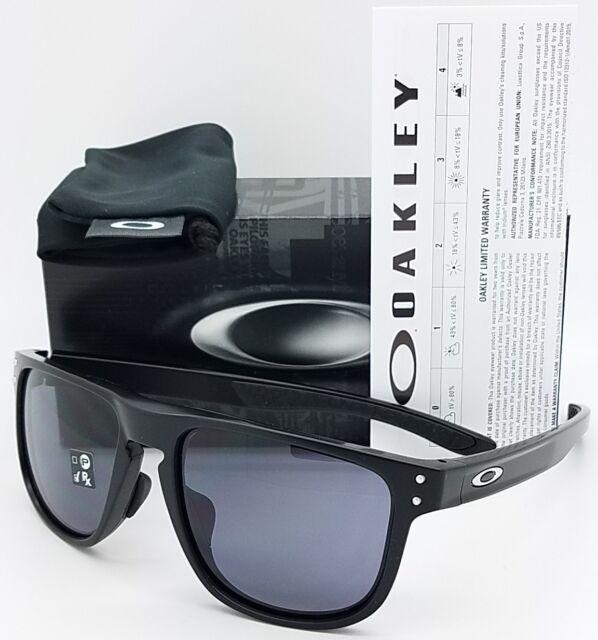 53113158127e4 NEW Oakley Holbrook R sunglasses Matte Black Grey 9379-0155 GENUINE Asian  Round