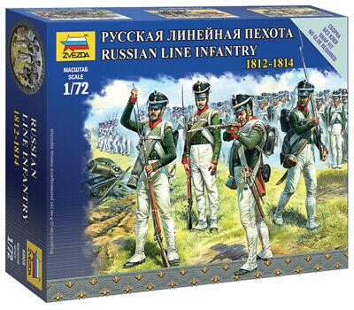 ZVEZDA 6815 Set 5 soldati linea di Fanteria russa gruppo di comando scala 1:72