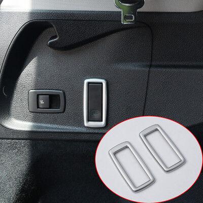 2017 Karbonfaser f/ür 218i Gran Tourer F45/F46/ABS Chrom Elektronische Feststellbremse Button Abdeckung Trim 2015