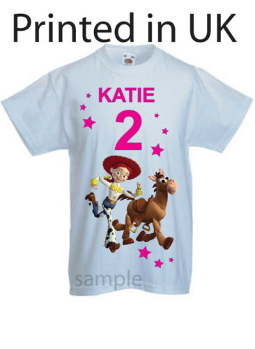Jesse Toy story childs t-shirt Party t-shirt Personalised