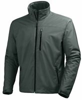 Helly Hansen Crew Midlayer Fleece Lined Waterproof Jacket Rock NEW