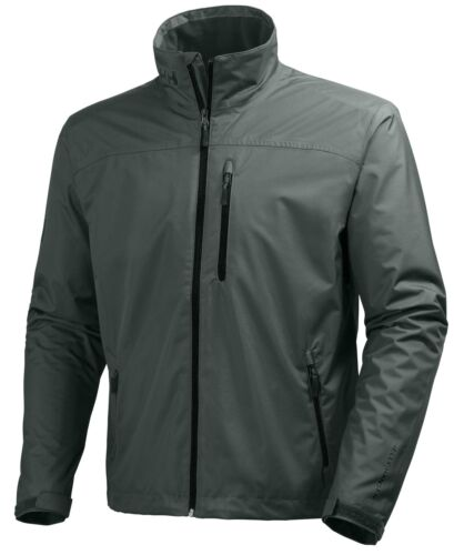 Helly Hansen Crew Midlayer Fleece Lined Waterproof Jacket 30253//899 Rock NEW