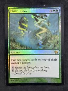 MTG Magic The Gathering FOIL Fecundity Eighth Edition  HP