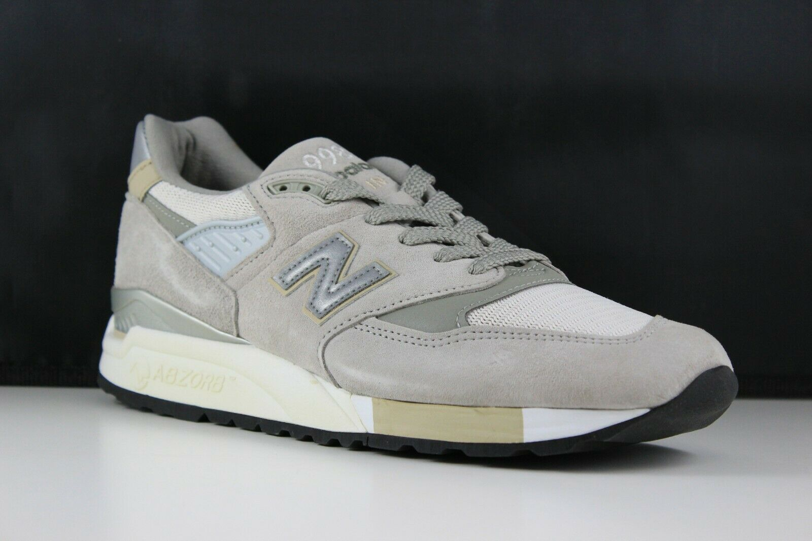 New Balance Size 10 Mens Grey M998CEL