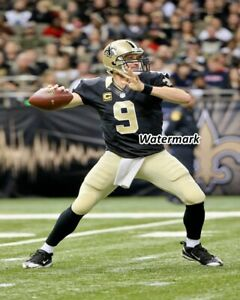 NFL-New-Orlean-Saints-QB-Drew-Brees-Game-Action-Color-8-X-10-Photo-Picture