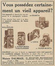 Z9307 Maison DALMAIS - Super Bessa - Leica -  Pubblicità d'epoca - 1936 Old ad
