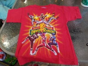 Power Rangers Retro Japanese Kids T-Shirt