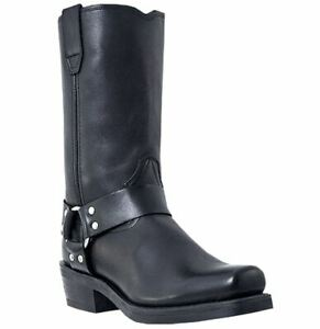 Dingo-Dean-DI19057-Mens-Black-Leather-Harness-Work-Boots