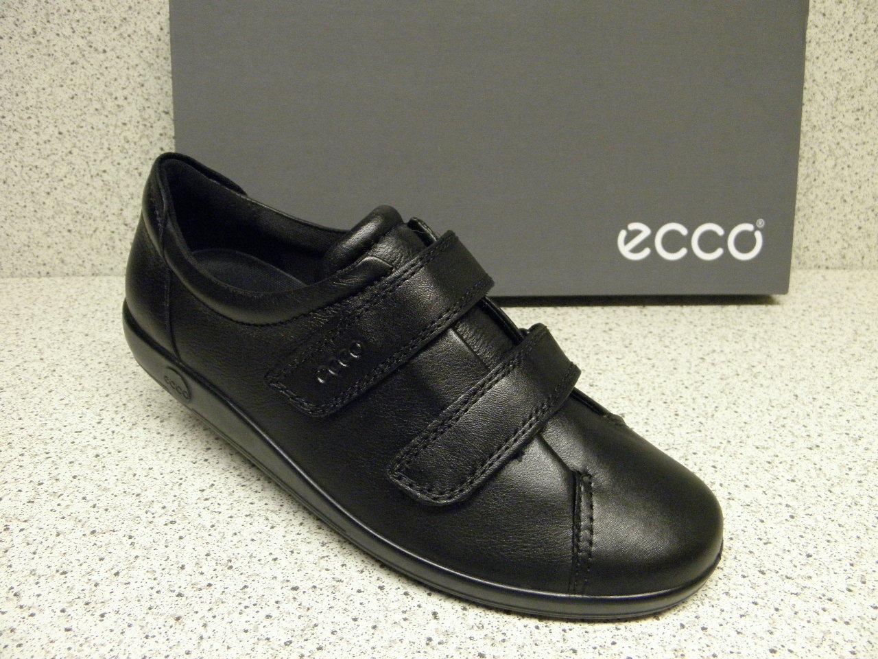 Ecco ® riduce finora  84,95 NERO VELCRO + GRATIS Premium-CALZE (e85) | Pregevole fattura  | Uomini/Donna Scarpa