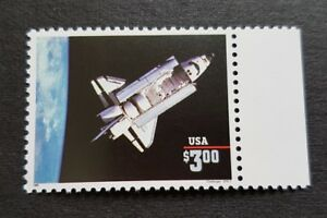 USA-1995-Space-Ship-Shuttle-Challenger-1v-Stamp-Mint-NH-Original-Print-in-1995