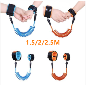 UK Children Kids Anti-lost Band Safety Link Harness Wrist Strap Belt Reins