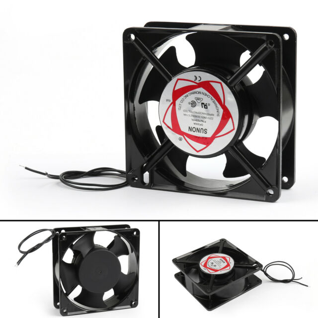 4Pc AC Brushless Cooling Blower Ventilador 220V 0.14A 12038s 120x120x38mm Fan ES