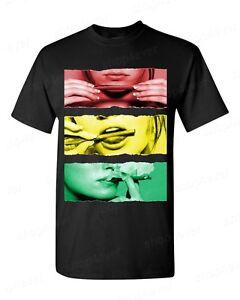 Blunt-Roll-Rasta-T-shirt-Marijuana-Leaf-Weed-Stoner-Joint-Bob-Marley-420-T-shirts