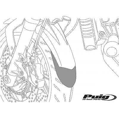 9819401 - PUIG Faldon o extension guardabarros delantero