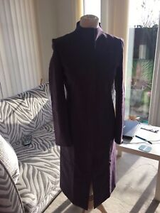 Fab Millen 10 Suede Coat Purple Karen Faux g5YwFgx
