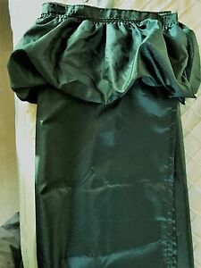 Image Is Loading Ruffle Shower Curtain Kelly Green With 12