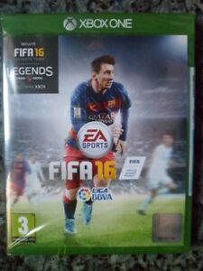 FIFA-16-Xbox-One-Nuevo-Precintado-futbol-football-soccer-Messi-en-castellano
