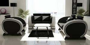 Ledersofa-Sofagarnitur-Moderne-3-2-1-Sofa-Couch-Polster-Sitz-Garnitur-Leder-Neu