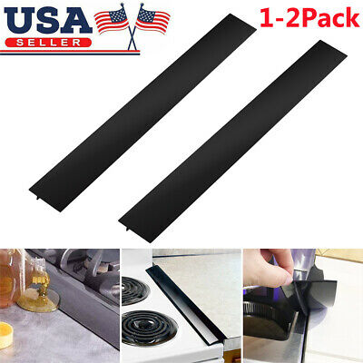Stove Counter Gap Cover Oven Guard Spill Seal Slit Filler Kitchen Super Sell