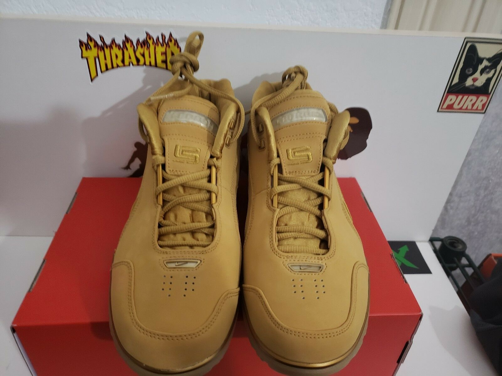 NIKE LEBRON AIR ZOOM GENERATION ASG QS SIZE 7