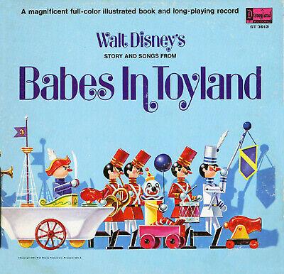 #3913 LP /& Storybook Disney Babes in Toyland