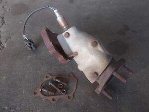 JDM S14 SILVIA 200SX SR20DET stock exhaust dump outlet pipe 69F + O2 sensor #6